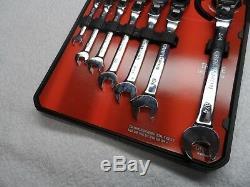 Artisan Verrouillage Standard Sae Tête Flex Ratcheting Clé Partielle # 42400
