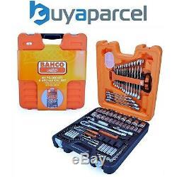 Bahco S106 106 Pièces À Cliquet Socket Combinaison Spanner Set 1/4 Et 1/2 Lecteur