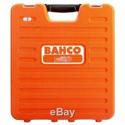 Bahco S106 1/4 Et 1 / 2po 106 Piece Socket, Ratchet + Combinaison Spanner Set En Cas