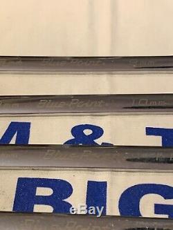 Blue Point 8pc 12 Points À Cliquet Métriques Clés À Molette Boerm 9-19mm