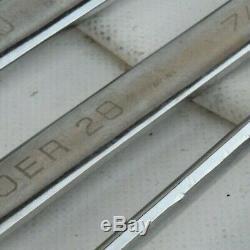 Blue Point Par Snap On Boer704 4pc Cliquet Sae Jeu De Clés (13 / 16-1) Preowned Oem