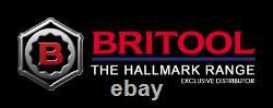 Britool Hallmark 13 Piece Flexi Head Set Métrique Ratcheting Clé 8 21mm En Mousse