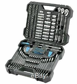 Canal Mécanique De Verrouillage Complet Ratcheting Tool Set Wrenches (200 Pc.)