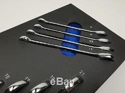 Clé À Cliquet Blue Point 8-21mm En Mousse Eva, Incl. Tva Vendu Par Snap On