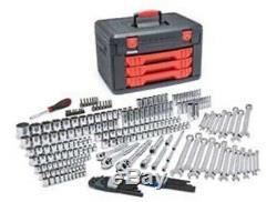 Clé Pour Engrenages 1/4 3/8 1/2 Dr Sae / Metric Maître Tool Set 80942