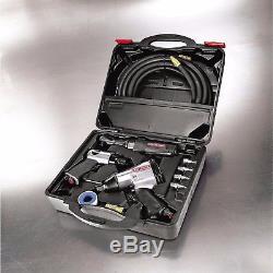 Craftsman 10pc Air Tool Set Compresseur 1/2 Marteau 3/8 Clé À Chocs À Cliquet Tuyau