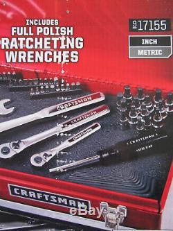 Craftsman 323 Pc Jeu D'outils Mécaniques # 17155 Douilles Clés À Rochet 311 309