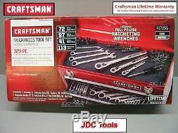 Craftsman - Ensemble D'outils De Mécanique, 32 Pièces, Avec Clés À Cliquet Polies - Nouveau 311 348