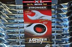 Danaher 85099 Kd Clé À Fourche Métrique Extra Longue XL Clé À Cliquet 8-24mm