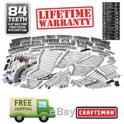Ensemble D'outils Mécaniques Craftsman 540 Pièces Avec Clé À Cliquet À Cliquet 84t 500 311