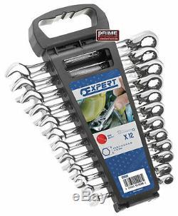 Expert Facom 12 Pce. Cliquet Combinaison Spanner Set 8-19mm 111106 Réversible