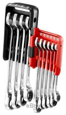 Facom 467b. Jp10 8-19mm Anti-slip Ratchet Spanner Wrench Set