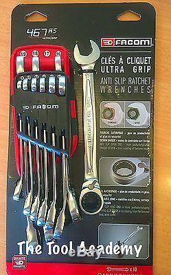 Facom Nouveau Clé Anti-glissement Cle Rayon Outil Clé 10 Pce 8mm 19mm