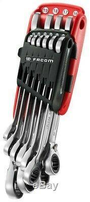 Facom Pro 10 Pièces À Cliquet Clé Mixte / Spanner Set 8 À 19mm 467. Jp10pb