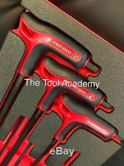 Facom Tools Module Mousse 3 MM 10 MM Hex Allen Jeu De Clés D'alimentation Poignée Poignée En T