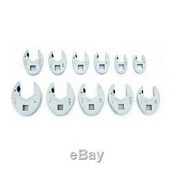Gearwrench 11 Pc. Sae Ratcheting Crowfoot Set 89118