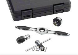 Gearwrench Tap & Die Clé Disque Outil Ratcheting 5 Morceaux Sae Pouces Kit Case