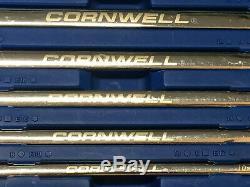 Jeu De 5 Clés À Cliquet Métriques À Tête Double Extra-plate Cornwell