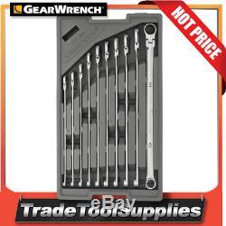Jeu De Clés Gearwrench 10 Pc 120xp Métrique Uni Spline Gearbox Cliquet 86126