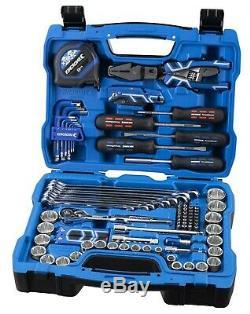Kincrome Metric & Imperial Socket & Tool Set K28193 94pcs 3/8 72 Dents À Cliquet