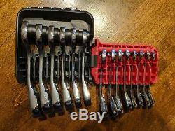 Mac Tools 14 Pc Métrique Stubby Réversible Ratcheting Wr Set De La Srwms214pta