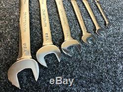 Made In USA 6 Pc Artisan Verrouillage Flex Ratcheting Clé Set Métrique MM Boîte