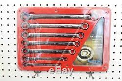 Matco Tools Pro Swing 7pc Métrique 8mm-17mm Double Boîte Clé À Cliquet (usa)