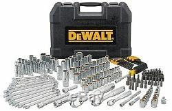 Mécanique Dewalt Tool Set 205 Pièces Mold Durable Blow Case Comfort Variété Nouveau