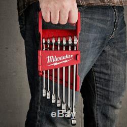 Milwaukee 48-22-9406 Jeu De Clés Combinées À Cliquet Durable Sae, 7 Pièces