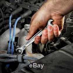 Milwaukee 48-22-9516 15pc Métrique Combinaison Ratcheting Boîte Wrench Set Case 8-22