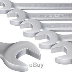 Nous 12 × Tête Flexible De Clé À Cliquet Métrique De Tête D'outil De Réparation De Voiture 8-19mm Réglés