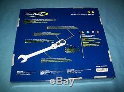 Nouveau Blue-point 12pt Box Flex Clé À Cliquet 12pc Set 8 À 19mm Boermf712a Scellé