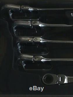 Nouveau! Matco Tools Clé À Cliquet Extra-longue Extra-souple 5pcs Metric Srfbxlm52ta