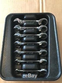 Outils À Cliquet Metric Jeu De Clés À Cliquet À Cliquet Zéro-décalage 7pcs 8-14mm Oxkrm707