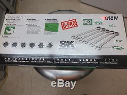 Outils À Main Sk # 89301 Jeu De 5 Clés G-pro Spline Métrique (20-24mm)