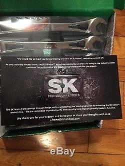 Sk Hand Tool 80049 Jeu De 7 Clés À Cliquet Sae En X Pour Cadre Sae, Brand New