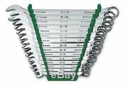 Sk Hand Tool 86265 Jeu De Clés Chromées Combinées Métriques De 12 Points