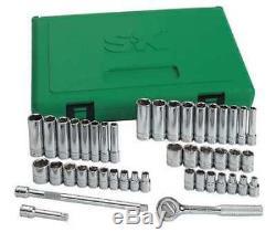 Sk Professional Tools 91844 Jeu De Clés À Douille À Six Pans Creux, 44pcs