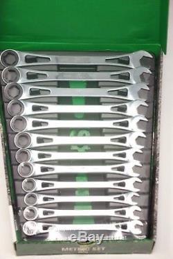Sk Tools 80019 Jeu De Clés À Cliquet À Cadre En X Métriques, 12 Pièces