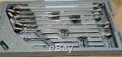 Universal Spline XL Flex Head Gearbox Ratcheting Jeu De Clés Métrique Kdt86126