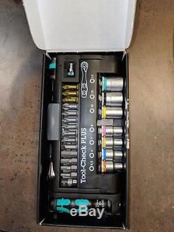 Wera 056490 Clé À Rochet Tool-check Plus Avec Douilles Métriques