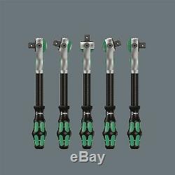 Wera Cliquet Zyklop Wrench Set Wera004046 3/8 Pouces 29pcs, 72 Dents Marque Allemande